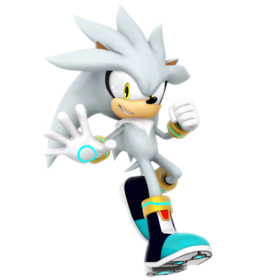Silver The Hedgehog PNG Transparent