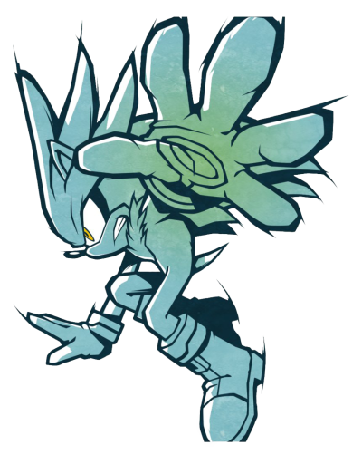 Silver The Hedgehog Sonic PNG File