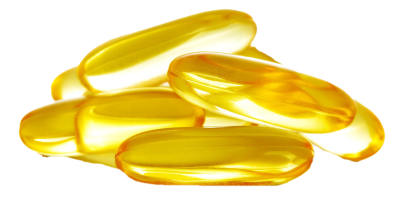 Fish Oil Capsule PNG Transparent Image