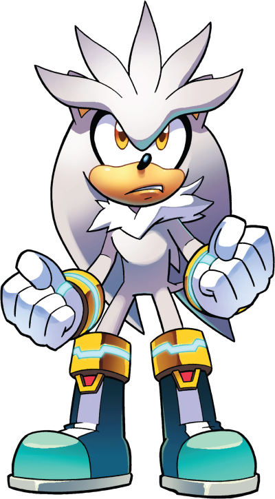 Silver The Hedgehog Sonic PNG Image