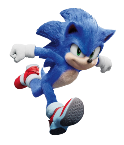 Sonic The Hedgehog Movie PNG File