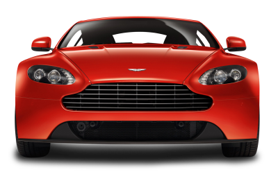 Red Aston Martin PNG File