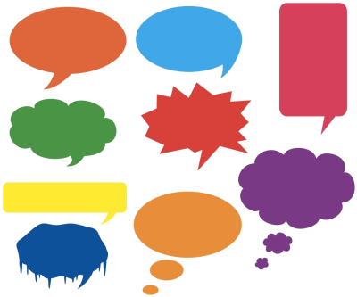 Speech Bubble PNG Photos