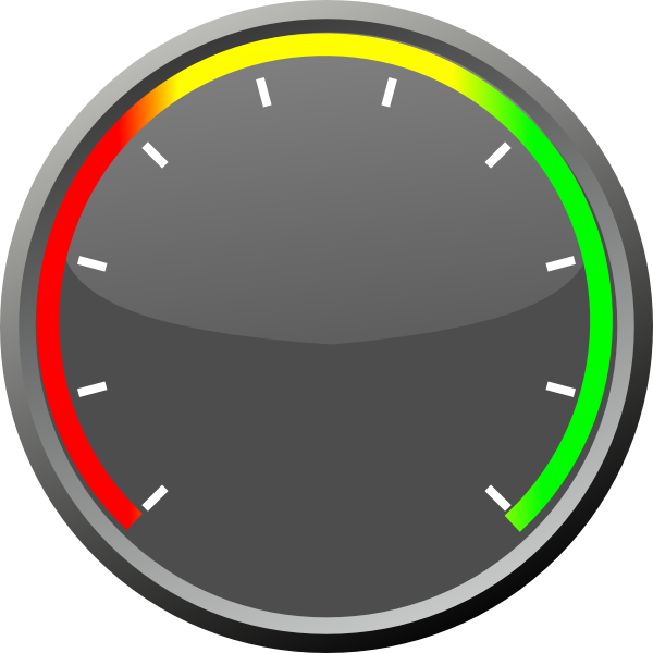 Internet Speedometer PNG Picture