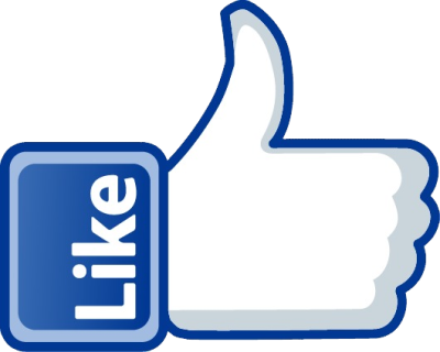 Facebook Like PNG Transparent Image