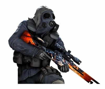 Counter Strike Soldier PNG File