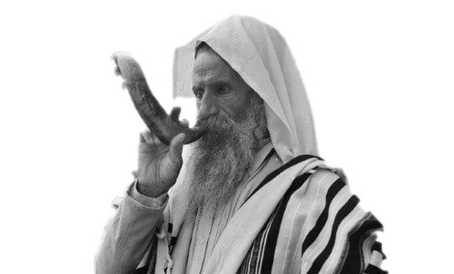 Shofar Blowing Transparent Background