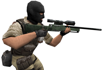 Counter Strike Soldier PNG Picture