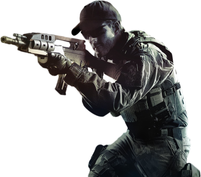 Counter Strike Soldier Transparent PNG