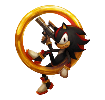 Shadow The Hedgehog Transparent PNG