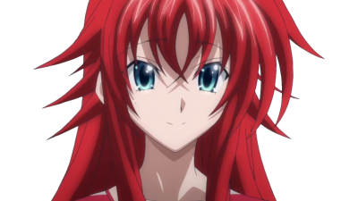 Angry Rias Gremory PNG Photo