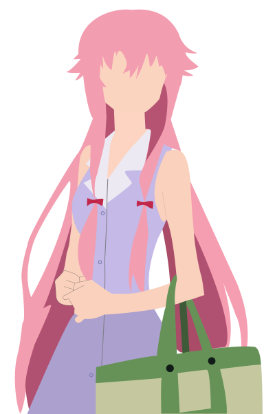 Yuno Gasai PNG Photos