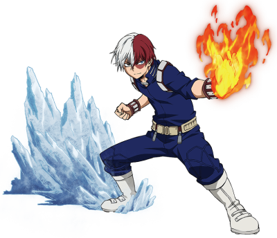 Shoto Todoroki TV Character PNG Transparent