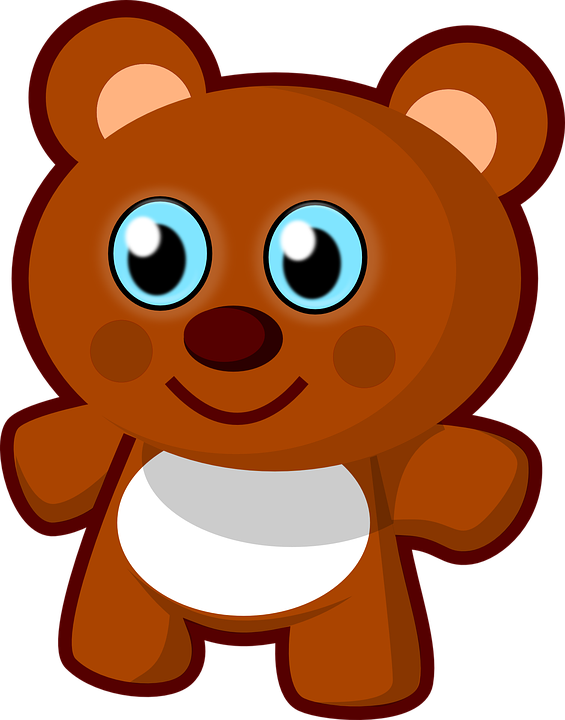 Teddy Bear Vector Transparent PNG