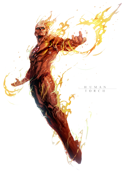 Human Torch PNG File