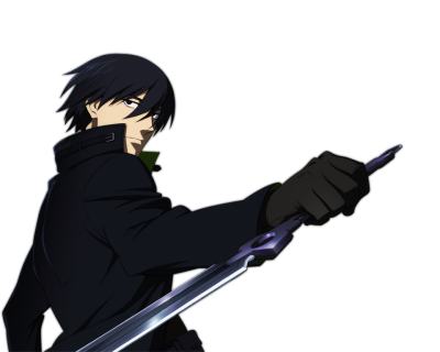 Darker Than Black PNG Pic