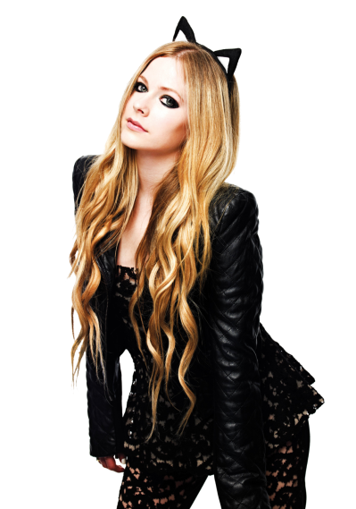 Avril Lavigne Transparent Background