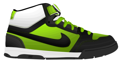 Nike Shoes Clipart