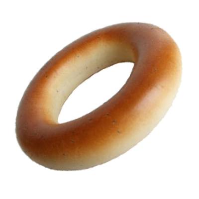 Bagel-background-transparent