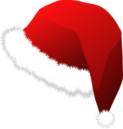 Christmas Santa Claus Red Hat Png Image
