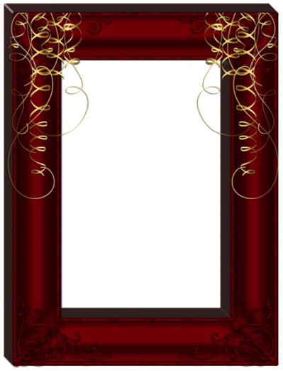 Dark Frame Transparent Background