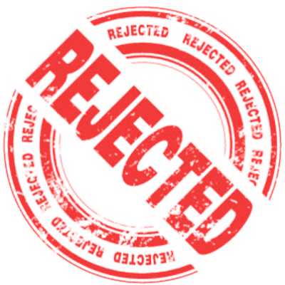 Rejected Stamp Transparent