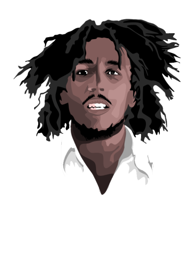 Bob Marley Transparent Background