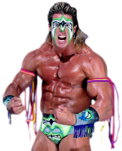 The Ultimate Warrior Transparent Background
