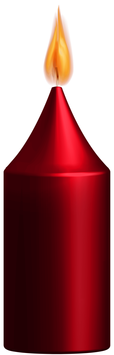 red-candle-png