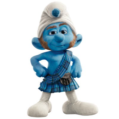 Smurfs Transparent Background