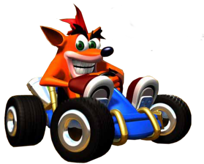 Crash Bandicoot Transparent