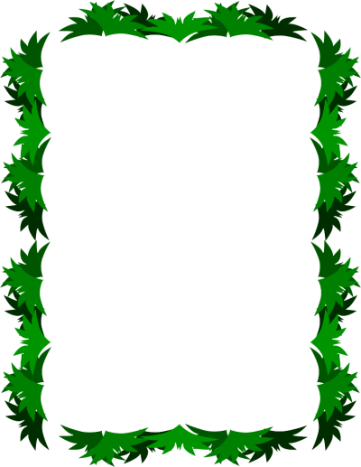 Leaf Frame PNG Transparent Image