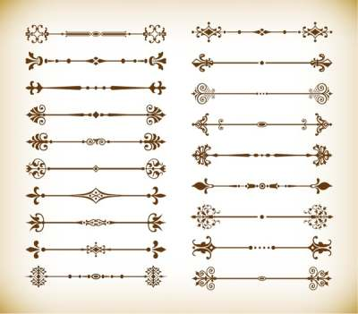 vector-calligraphic-design-elements-and-page-decoration-dividers_569987