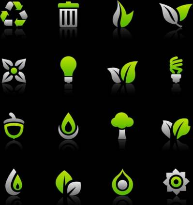 eco-design-elements-green-flat-shapes_286990