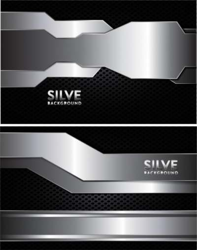 modern technology background shiny silver decoration 6832244