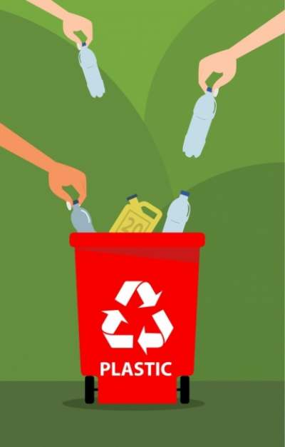 environment-banner-hand-plastic-bottles-dustbin-icons_6831223