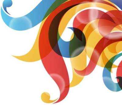 vector-rainbow-colored-swirly-background_148111