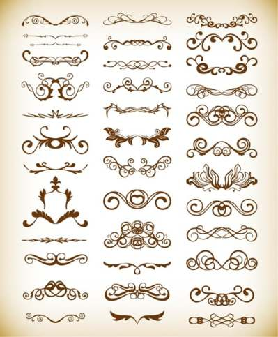 vector-decorative-design-elements-for-your-design_569981