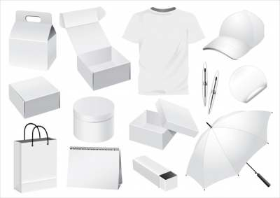 personal stuffs icons 3d white sketch 286952