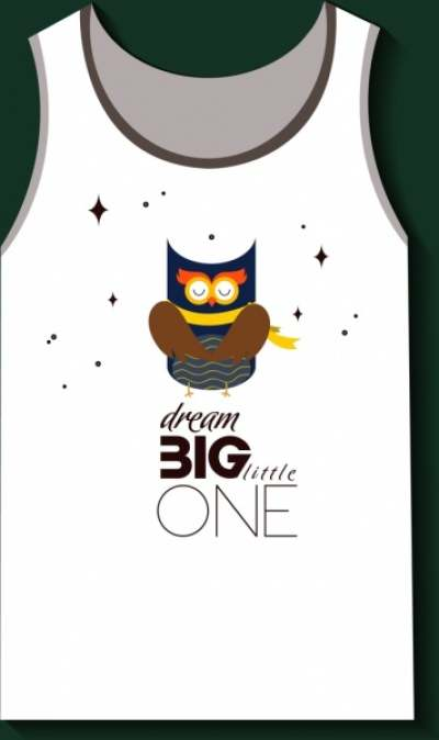 tshirt design dream design cute owl icon 6830272
