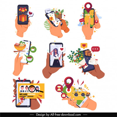 phone-application-icons-hands-user-interface-sketch_6851485