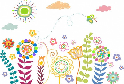 natural-life-drawing-multicolored-handdrawn-flowers-butterfly-icons_6833121